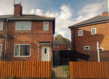 Thumbnail 2 bed semi-detached house for sale in Byron Road, Darlington