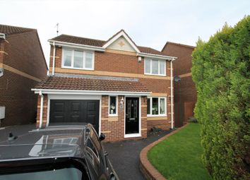 Thumbnail 3 bed detached house for sale in St Cuthberts Drive, Sacriston, Durham