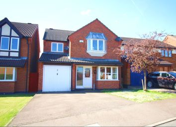 Thumbnail 4 bed detached house for sale in Freswick Close, Hinckley