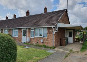 Thumbnail 2 bedroom terraced bungalow for sale in Station Drive, Wisbech St. Mary, Wisbech
