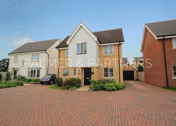 Thumbnail 4 bed detached house for sale in Overing Avenue, Great Waldingfield, Sudbury
