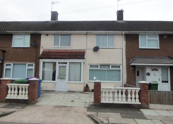 Thumbnail 3 bed terraced house to rent in Ringway Road, Liverpool