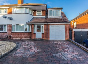 Thumbnail 4 bedroom semi-detached house for sale in Warley Croft, Oldbury