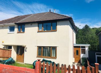Thumbnail 3 bed semi-detached house for sale in Tynybryn Road, Tonyrefail, Porth