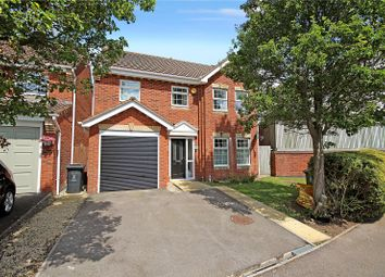Thumbnail 4 bed detached house for sale in Warrener Close, Swindon, Wiltshire
