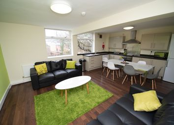 Thumbnail 5 bed shared accommodation to rent in Broomgrove Road, Collegiate, Sheffield