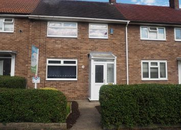 Thumbnail 2 bed terraced house for sale in Dart Grove, Longhill, Hull