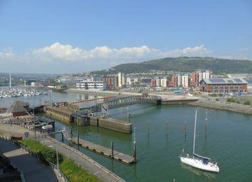 Thumbnail 1 bed flat to rent in Aurora, Trawler Road, Swansea