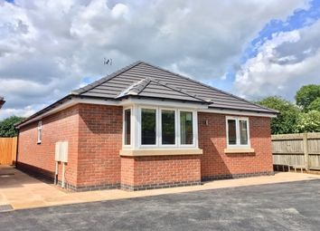 Thumbnail 2 bed bungalow to rent in Cossington Road, Sileby, Loughborough
