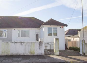 Thumbnail 3 bed semi-detached bungalow for sale in 86 Old Woodlands Road, Crownhill, Plymouth
