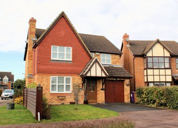 Thumbnail 4 bed detached house for sale in Bessemer Close, Hitchin, Hertfordshire