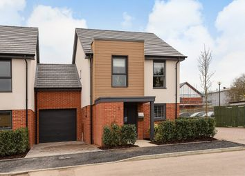 Thumbnail 3 bedroom link-detached house for sale in Redfields Meadow, Church Crookham, Fleet