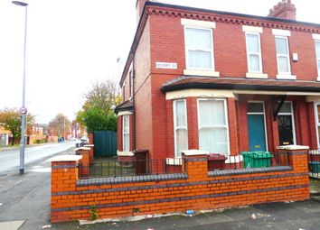 Thumbnail 4 bedroom end terrace house to rent in Ossory Street, Rusholme, Manchester