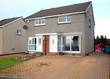 Thumbnail 2 bed semi-detached house for sale in Hillcrest Road, Uddingston, Glasgow