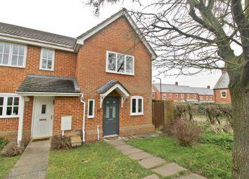 Thumbnail 2 bedroom end terrace house to rent in Oriel Close, Wolverton, Milton Keynes