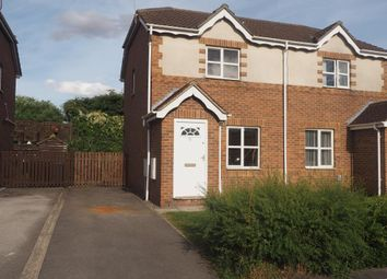 Thumbnail 2 bedroom semi-detached house for sale in Mast Drive, Victoria Dock, Hull