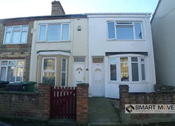 Thumbnail 3 bedroom end terrace house to rent in Padholme Road, Peterborough, Cambridgeshire.