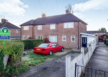 Thumbnail 3 bed semi-detached house for sale in Hollington Road, Nottingham