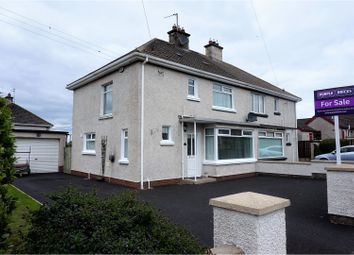 Thumbnail 3 bed semi-detached house for sale in Chestnut Grove, Ballymoney