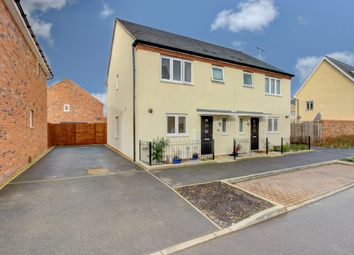 Thumbnail 3 bed semi-detached house for sale in Marino Boulevard, Whitehouse, Milton Keynes