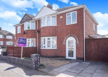 Thumbnail 3 bed semi-detached house for sale in Guilford Drive, Wigston