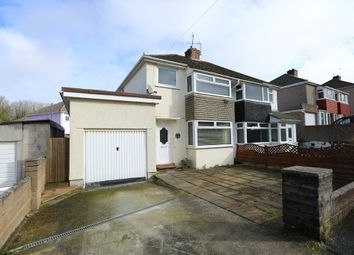 Thumbnail 3 bedroom semi-detached house for sale in Broomfield Drive, Plymstock, Plymouth