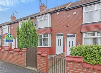 Thumbnail 2 bed terraced house for sale in Grove Avenue, Doncaster