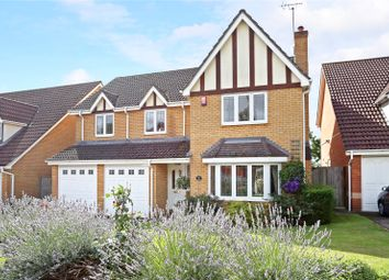 Thumbnail 5 bedroom detached house for sale in Hunters Way, Spencers Wood, Reading, Berkshire