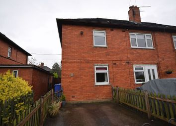 Thumbnail 2 bed flat for sale in Abbey Road, Abbey Hulton, Stoke-On-Trent
