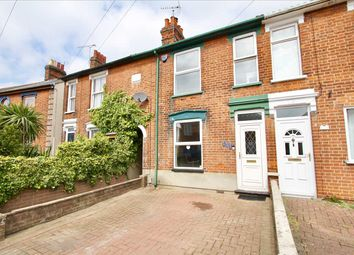 Thumbnail 2 bedroom terraced house for sale in Rosehill Road, Ipswich