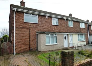 Thumbnail 3 bed semi-detached house to rent in Tiverton Avenue, North Shields