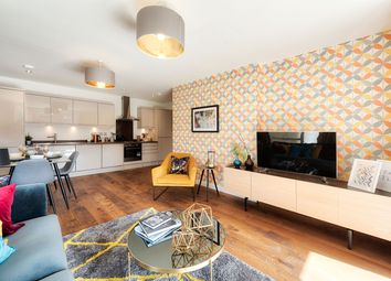 Thumbnail 2 bed flat for sale in Station Road, Belmont, Sutton