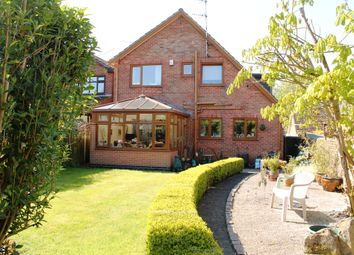 Thumbnail 4 bed detached house for sale in Orchard Close, West Hallam