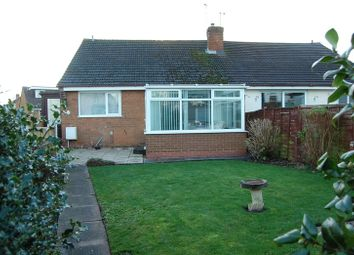 Thumbnail 2 bed semi-detached bungalow for sale in Church Road, Albrighton, Wolverhampton