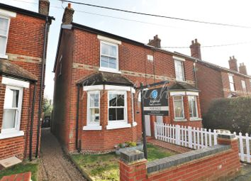Thumbnail 3 bed semi-detached house for sale in Edith Villas, Brantham Hill, Brantham, Manningtree