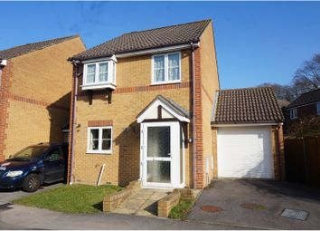 Thumbnail 3 bed detached house for sale in Bracklesham Close, Southampton