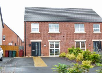 Thumbnail 3 bed semi-detached house for sale in Wheatsheaf Way, Clowne, Chesterfield