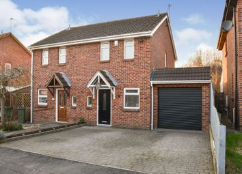 Spinney Close, Glen Parva, Leicester LE2. 2 bed semi-detached house for sale