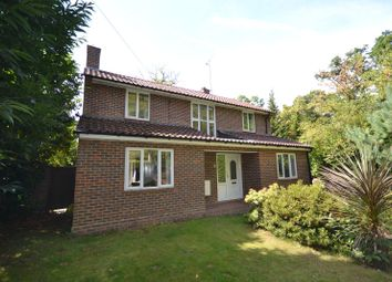 Thumbnail 4 bed detached house for sale in Sheerwater Road, Woodham, Addlestone