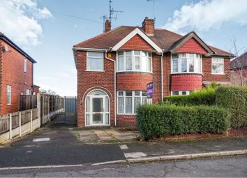 Thumbnail 3 bed semi-detached house for sale in Cambria Road, Mansfield