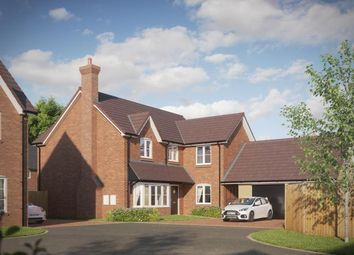 Thumbnail 4 bed detached house for sale in Lawnswood, Branston Road, Tatenhill, Staffordshire