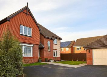 Thumbnail 5 bed detached house for sale in Edgeley Close, Heathley Park, Leicester