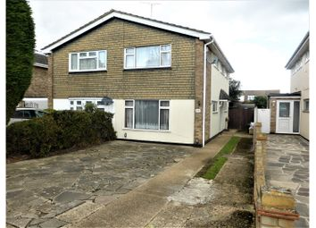 Thumbnail 3 bed semi-detached house for sale in Stansfield Road, Benfleet