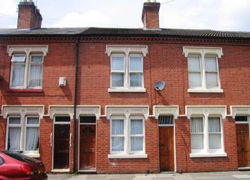 Thumbnail 3 bed terraced house to rent in Cranmer Street, Leicester