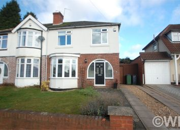 Thumbnail 3 bedroom semi-detached house for sale in Pennyhill Lane, West Bromwich, West Midlands