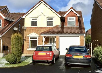 Thumbnail 3 bed detached house for sale in Wellburn Close, Bolton