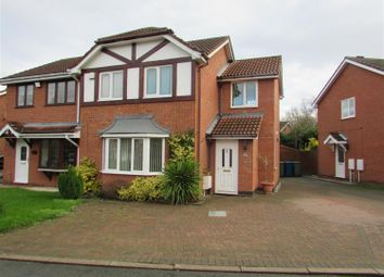 Thumbnail 3 bed semi-detached house to rent in Surrey Drive, Tamworth, Staffordshire