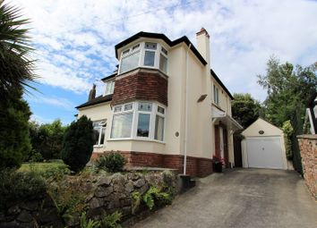 Thumbnail 3 bed detached house for sale in Teignmouth Road, Torquay