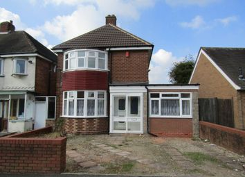 Thumbnail 3 bed detached house to rent in Cockshut Hill, Birmingham