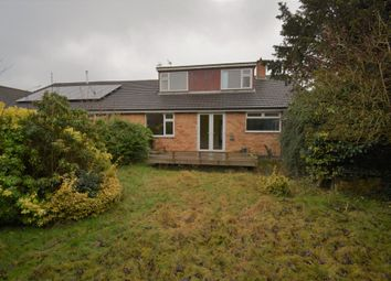Thumbnail 5 bed semi-detached bungalow for sale in Hilltop Avenue, Great Glen, Leicester
